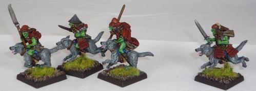 Cavalcade Samurai Goblin Wolfriders